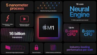 Photo of Apple Silicon M1, el primer chip propio de Apple para las Mac