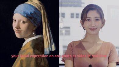 Photo of Xpression Camera, para usar el rostro de alguien famoso en las sesiones de Videoconferencia