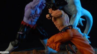 Photo of Dragon Ball Super: un artista fabricó sus propias figuras y recreó en una maqueta, la feroz batalla del torneo de poder