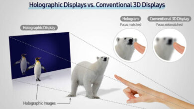 Photo of Samsung desarrolló un prototipo de pantalla holográfica