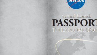 """Photo of Asiste al streaming del próximo lanzamiento de la NASA y SpaceX, y recibe tu propio """"pasaporte virtual"""" con su respectivo sello"""