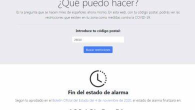 Photo of QueCovid.es, para consultar las restricciones en cada zona de España