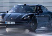 Photo of Porsche rompe el récord mundial Guinness del derrape más largo con un auto eléctrico