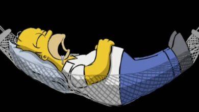 Photo of Los Simpson: una extraña animación está escondida en el DVD de la película