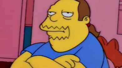 Photo of Los Simpson: este es el nombre real del tipo de la tienda de historietas