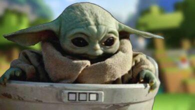 Photo of Minecraft: así se ve Baby Yoda en el nuevo DLC de Star Wars