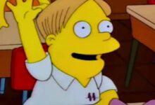 Photo of Los Simpson: Bart aparentemente arruinó la vida de Martin Prince
