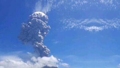 Photo of Video: volcán Lewotolo hace erupción brutal en Indonesia y se vuelve viral