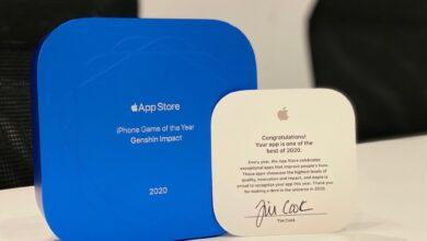 Photo of Este es el trofeo que envía Apple a los ganadores de la App Store 2020