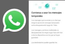 Photo of Ya puedes probar los mensajes con fecha de caducidad en WhatsApp, que llegan para todos los usuarios