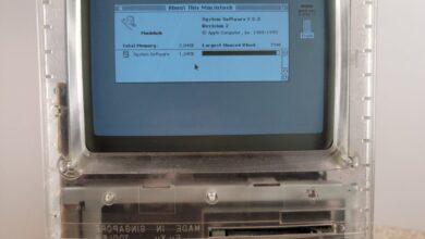 Photo of Aparecen imágenes de un prototipo de Macintosh con la carcasa transparente