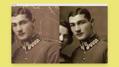 Photo of Esta inteligencia artificial restaura fotografías dañadas: adiós arañazos, hola color