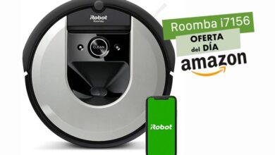 Photo of Hasta la medianoche, en Amazon, te puedes ahorrar 200 euros comprando un robot aspirador como el Roomba i7156 de iRobot