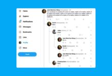 Photo of Twitter dice adiós a las conversaciones anidadas en hilos que estaban probando