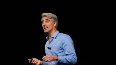 Photo of Craig Federighi habla de los cuatro principios básicos sobre la privacidad para Apple en una conferencia virtual
