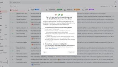 Photo of Cómo responder al aviso de Gmail sobre la activación de 'funciones inteligentes'