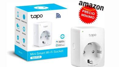 Photo of Llévate un poquito más barato todavía este enchufe inteligente en Amazon: TP-Link Tapo P100, ahora por sólo 9,90 euros