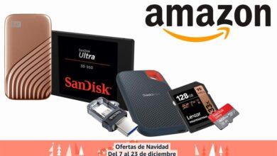 Photo of Más ofertas en almacenamiento SanDisk y Western Digital en Amazon: regalar GBs estas navidades sale más barato con estos discos duros y tarjetas de memoria