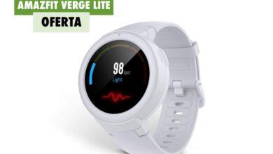 Photo of Amazfit Verge Lite, un smartwatch con hasta 20 días de autonomía, por 47,99 euros hoy en Amazon con envío gratis antes de Navidad