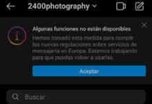 """Photo of Facebook explica a qué se debe el aviso de """"Algunas funciones no están disponibles"""" que está apareciendo en Instagram y Messenger"""