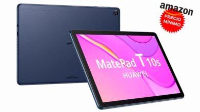 Photo of Más barata todavía y a precio mínimo, la Huawei MatePad T 10s es la tableta idel para regalar ahora que Amazon la tiene por 169 euros