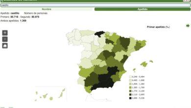 Photo of Esta web del INE te dice cuántas personas se llaman y/o apellidan como tú en España