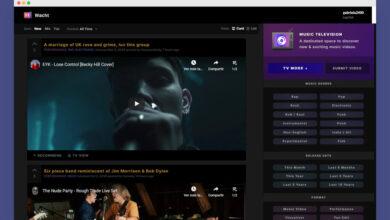 Photo of Esta web combina el estilo de Reddit con el MTV de antaño para descubrir nueva música viendo vídeos