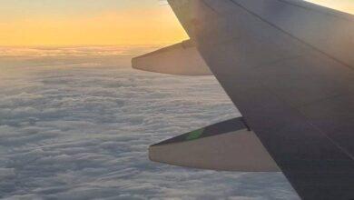 Photo of Así fue la experiencia de perseguir la penumbra del eclipse en un avión piloteado por un astronauta