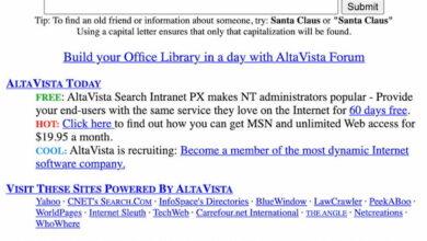 Photo of El 25º aniversario del motor de búsqueda AltaVista en la prehistoria de la Web