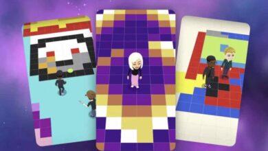 Photo of Así es Bitmoji Paint, el nuevo juego de Snapchat para crear arte pintando píxeles gigantes