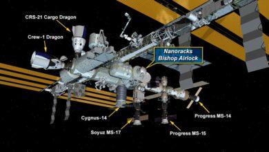 Photo of La esclusa Bishop de Nanoracks ya está instalada en la Estación Espacial Internacional