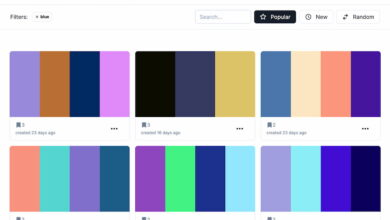 Photo of HexPalette: un gestor de paletas de colores para compartir en comunidad
