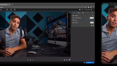 Photo of Un editor de vídeos con IA, para adaptar fácilmente videos al formato vertical