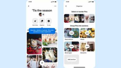 Photo of Pinterest trae nuevas funciones para gestionar los tableros