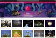 Photo of Google cerrará Poly, su biblioteca de objetos 3D, a principios del próximo verano