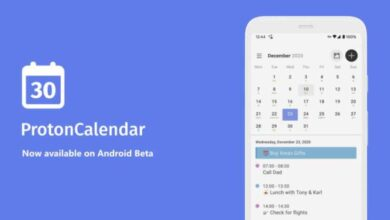 Photo of Llega la app independiente de Proton Calendar (de ProtonMail) a Android
