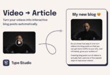 Photo of Para crear artículos interactivos sobre vídeos compartidos