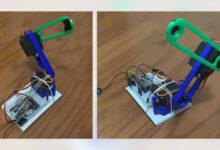 Photo of Un brazo robótico de bajo costo, desarrollado en México