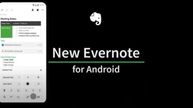 Photo of Evernote lanza nueva versión para Android
