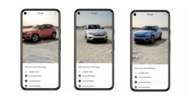 Photo of Google ya permite ver modelos de coches en 3D con todo lujo de detalles