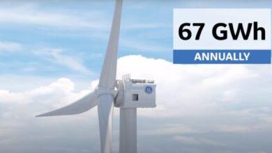 Photo of Turbinas eólicas que alimentan una casa durante dos días con un solo giro