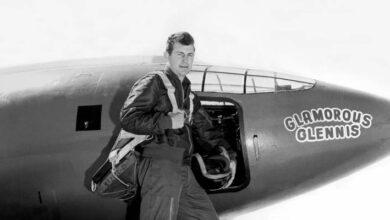 Photo of Falleció Chuck Yeager, primer piloto en romper la barrera del sonido