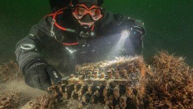 Photo of Segunda Guerra Mundial: Buzos descubren una máquina Enigma en el fondo del mar