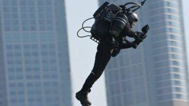 Photo of ¿Misterio resuelto? Piloto logra filmar al sujeto que vuela por Los Ángeles con un Jetpack