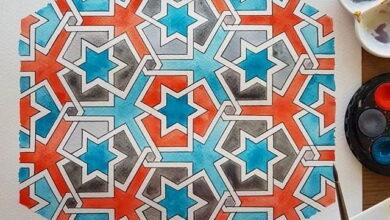 Photo of La geometría islámica vista por SamiraMian: diseños, cursos y vídeos