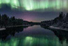 Photo of Envió una cámara en un globo meteorológico y logró fotografiar la aurora boreal desde el espacio