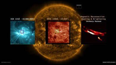 Photo of Las misteriosas y fugaces nanoflare del Sol podrían haber sido captadas en su ciclo completo por primera vez en la historia