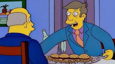 Photo of Los Simpson inmortalizan su propio meme de las hamburguejas al vapor y lo vuelven canon