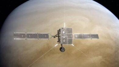 Photo of En su camino hacia el 'astro rey', el Solar Orbiter sobrevoló Venus y está recopilando datos del planeta