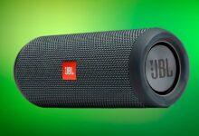 Photo of En las rebajas de El Corte Inglés tienes un altavoz Bluetooth portable resistente al agua como el JBL Flip Essential por unos ajustados 69,99 euros